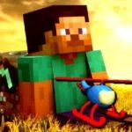 Minecraft Helicopter Adventure